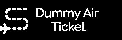 Dummy Air Ticket